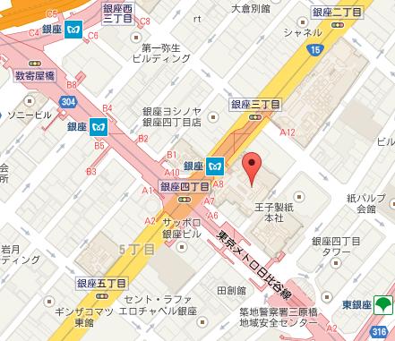 ジャンポールエヴァン 銀座三越店 MAP