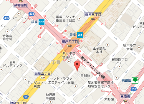 DelRey 銀座店 MAP